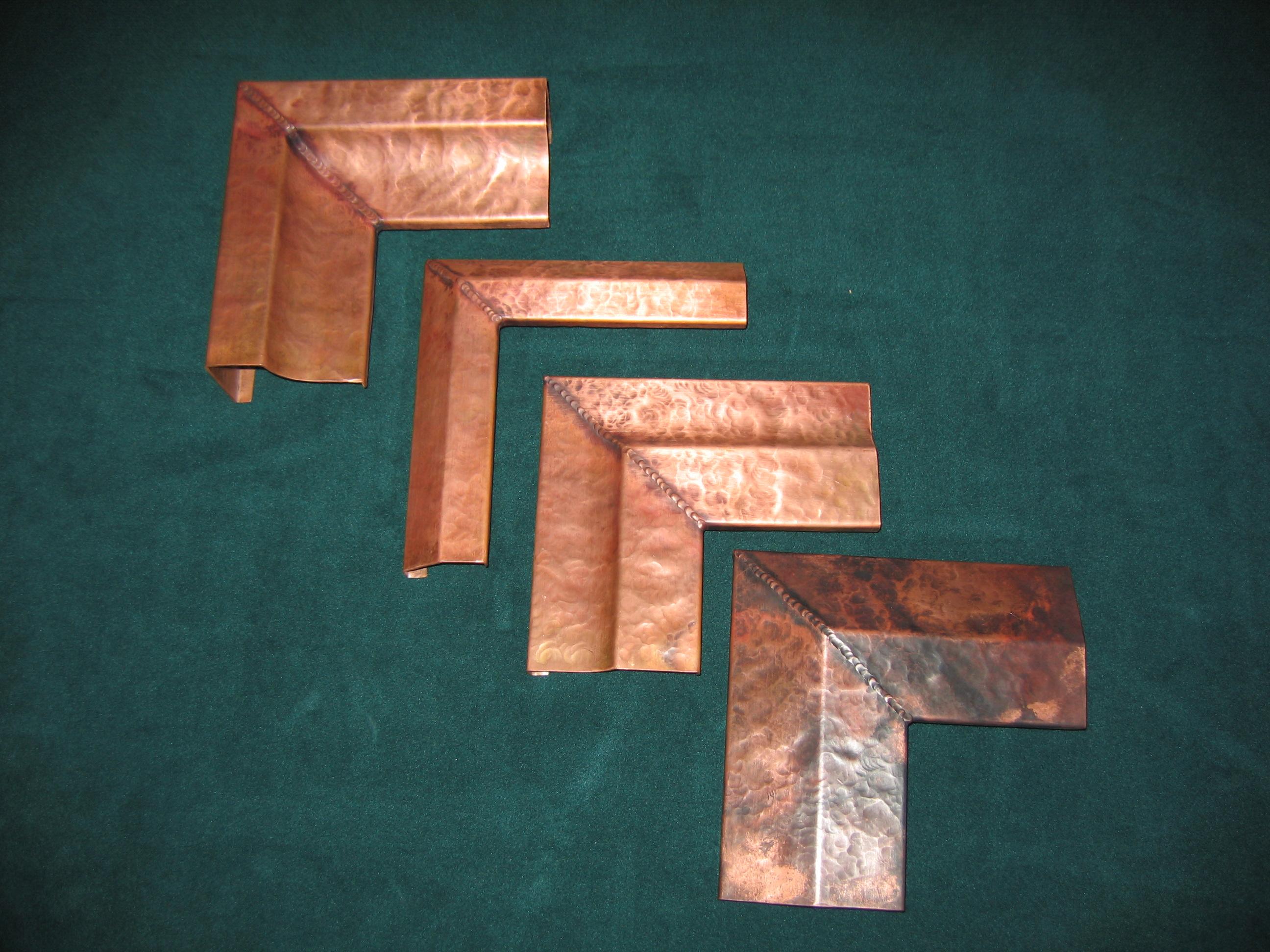 Distressed Copper Altered Frame