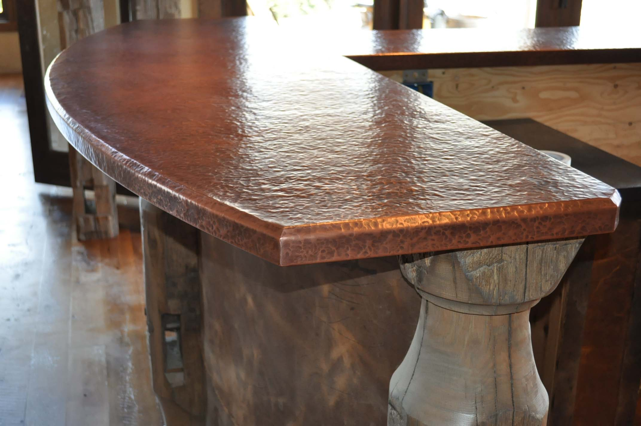 Custom Copper Counter Tops Mountain